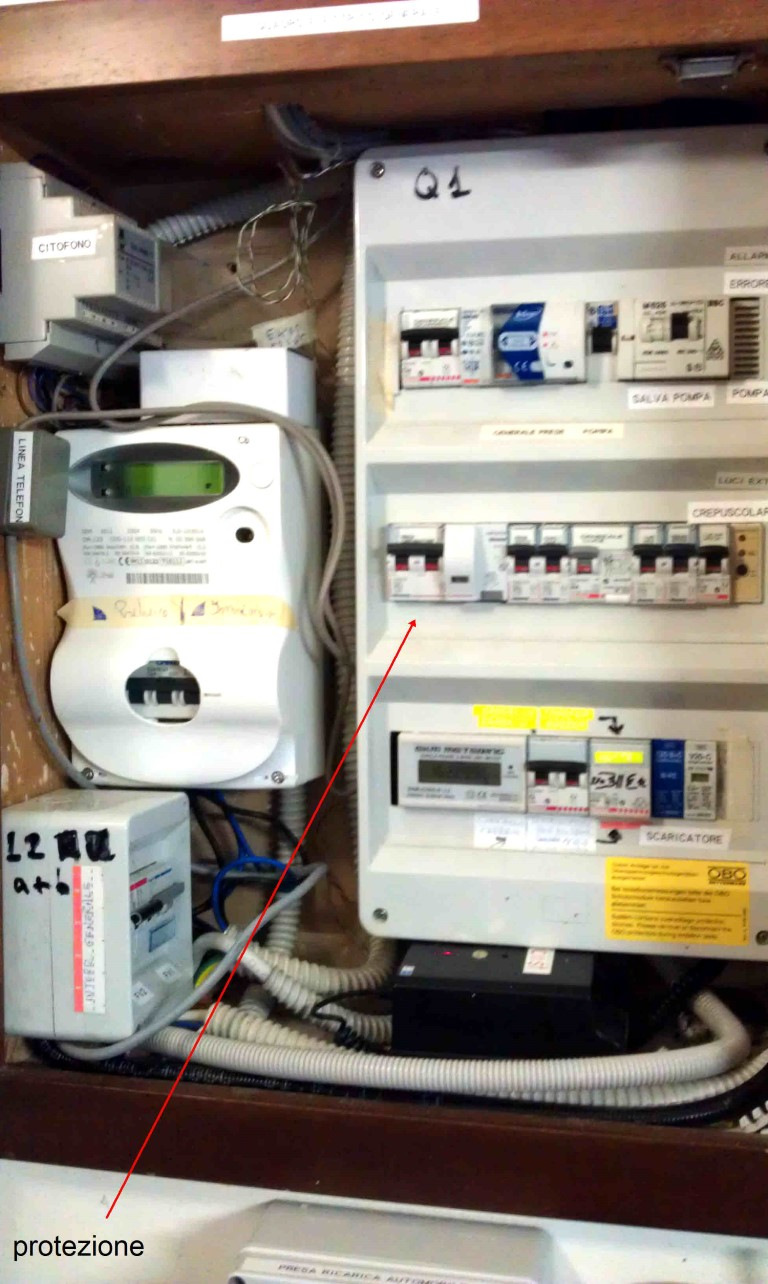 Quadro elettrico casa medium elettricista torino pronto intervento 24 ore - Quadro elettrico casa a norma ...
